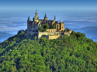 обои Замок гогенцоллерн в германии фото