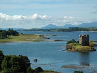 обои Замок на острове фото