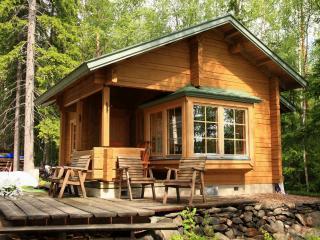 обои Лесной деревяный домик фото