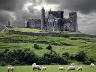 обои Старый замок в ирландии фото