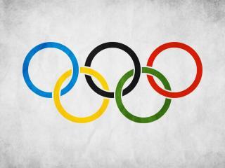 обои Флаг олимпиады фото