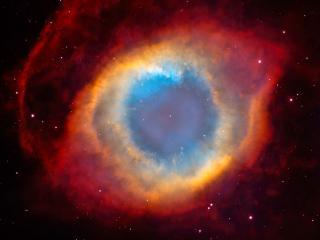 обои Космическая туманность в виде глаза фото