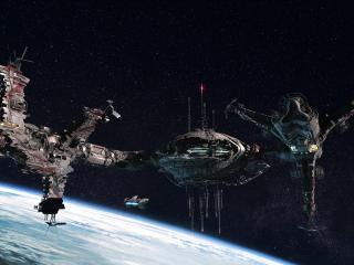 обои Космические корабли и станции в пространстве фото