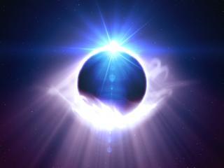 обои Космическое планетное сияние фото