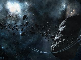 обои Метеоритный дождь фото