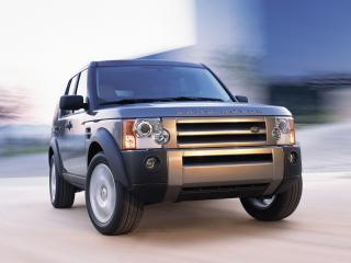 обои Land Rover Discovery 3 Silver фото