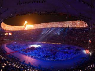 обои Открытие олимпийских игр фото
