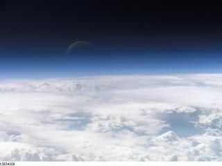 обои Облака над планетой земля фото