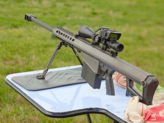 обои Cнайперская витовка barrett m82 фото