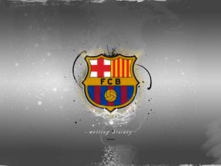 обои Эмблема клуба barcelona фото