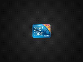 обои Логотип Intel core i3 inside фото