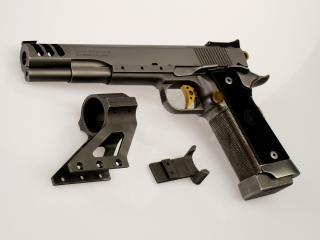 обои Пистолет и детали фото