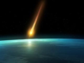 обои Падение кометы фото