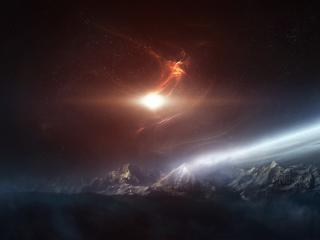 обои Поверхность далекой планеты фото