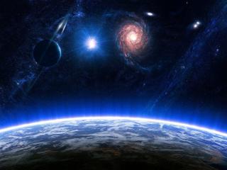 обои Поверхность планеты в галактики фото