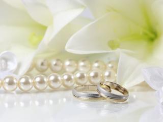 обои Подарочный набор к свадьбе фото