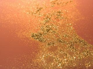 обои Фон посыпаный золотом фото