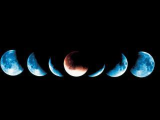 обои Парад планет и затмение фото