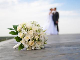обои Свадебный букет фото