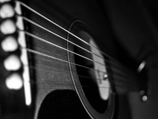 обои Корпус гитары со струнами фото