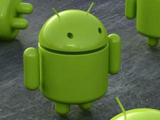 обои Androids роботы зеленые фото