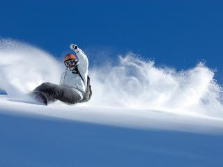 обои Сноубординг зимний вид спорта фото