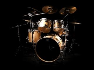 обои Барабаны,   ударник и тарелки фото