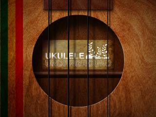 обои Дека гитары со струнами фото