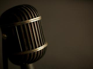 обои Ретро микрофон фото