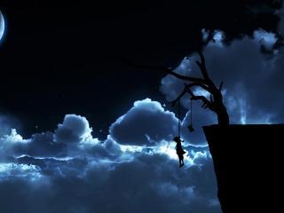 обои Ночная виселица фото