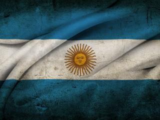 обои для рабочего стола: Аргентинский флаг