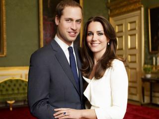 обои Принц уильям и кейт миддлтон-королевская чета фото