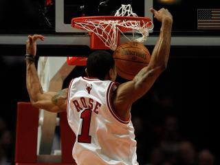 обои Баскетболист в броске фото