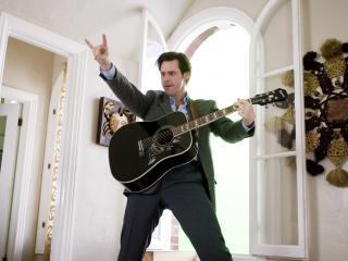 обои Джим керри с гитарой фото
