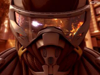 обои Crysis 2,   шлем нанокостюма фото