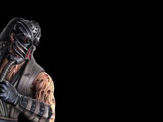 обои Mortal kombat,   боец в маске фото
