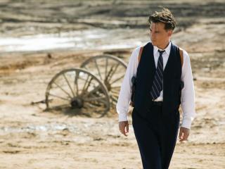 обои Джонни депп актер в галстуке и костюме фото