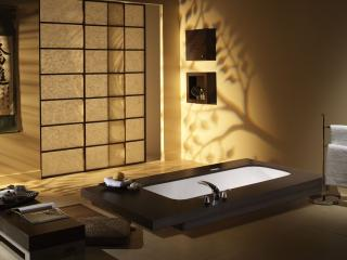 обои Ванная в японском стиле фото