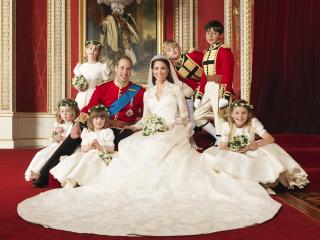 обои Свадьба принца уэльского и кетрин миддлтон фото