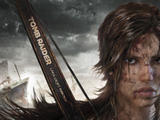 обои для рабочего стола: Lara coft,   tomb rider,   новая героиня