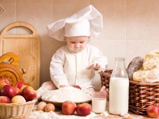 обои Маленький повар фото