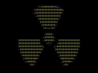 обои Знак радиации  символами фото