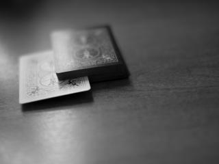 обои Карты черно-белые фото