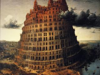 обои Вавилонская башня фото