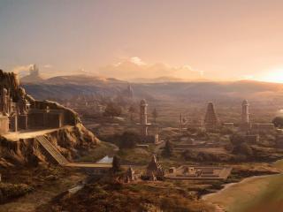 обои Город древнего мира фото