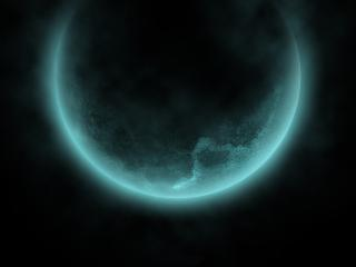 обои Туманная планета фото