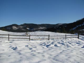 обои Зима в Карпатах фото