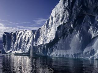 обои Ледяная стена фото