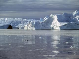 обои Ледяное побережье Арктики фото