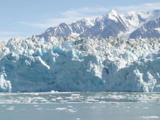 обои Старый снежный айсберг фото